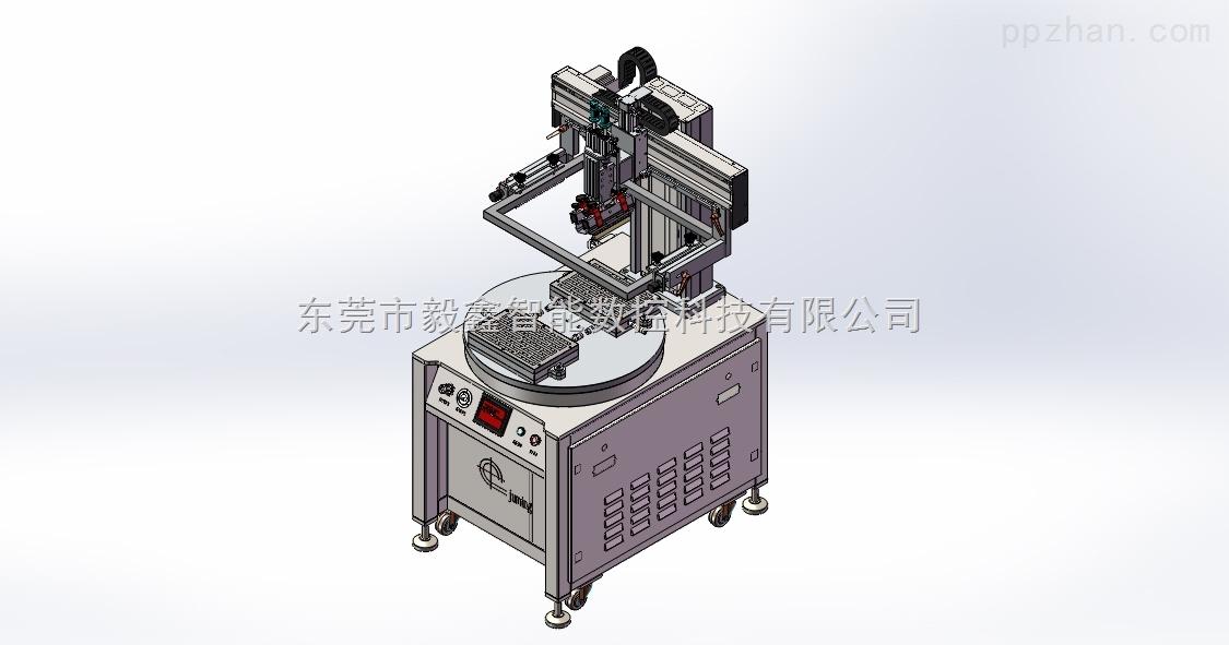 双工位转盘丝印机