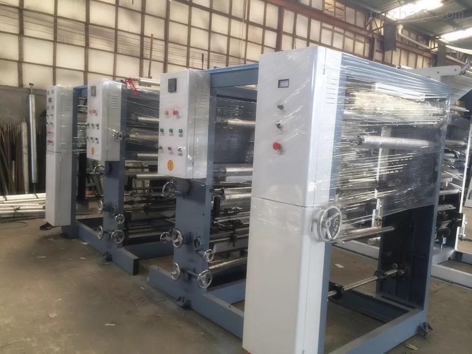 600型2色4组凹版印刷机A型-单烘道