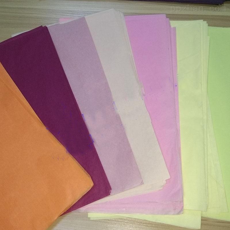 16克彩色棉纸