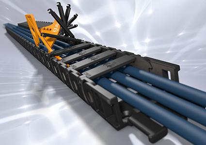 igus微型拖链在极狭小空间内安全引导电缆