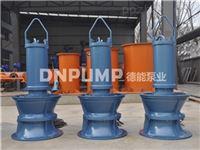 东三省抗旱浇地用潜水轴流泵