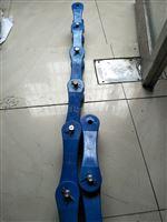 水平直线输送塑料链板