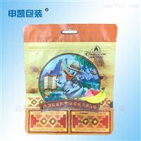 复合拉链袋定制厂家 自立彩印铝箔袋